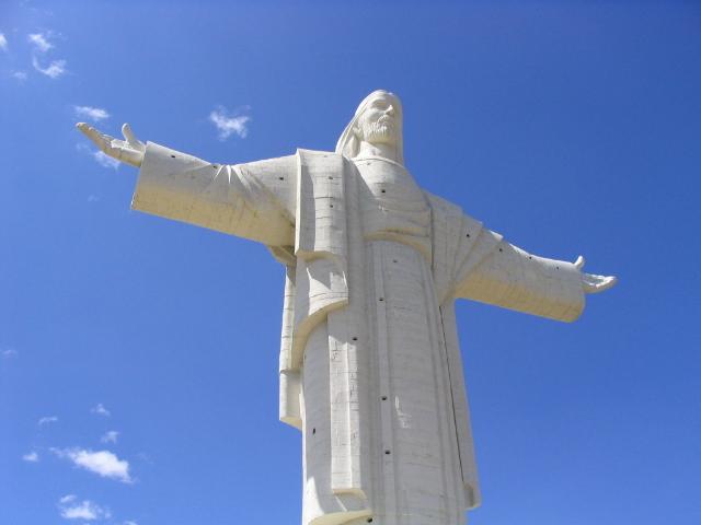 Le Christ de Cochabamba