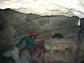 Mineurs de Potosi en plein travail