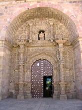 La porte la plus photographiee de San Lorenzo a Potosi