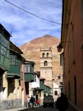Encore une vue imprenable sur le Cerro Rico a Potosi