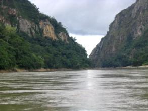 Le Rio Beni pres de Rurrenabaque