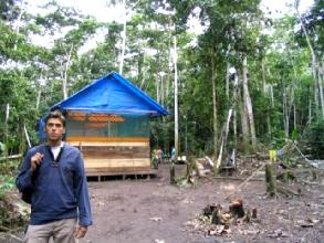 Le campement dans la jungle pres de Rurrenabaque