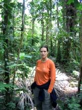 Geraldine dans la jungle bolivienne à Rurrenabaque