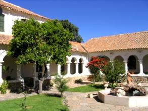 Un des quatre patios de La Recoleta