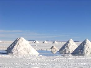 Extraction du sel du Salar : 0,02 euros par kilo