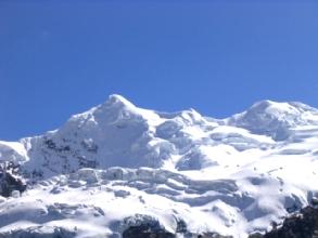 Le glacier de l'Ausangate