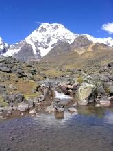 Dernier regard sur l'Ausangate au Pérou