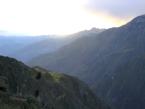 Cañon de Colca au Pérou