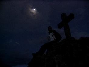 Pleine lune sur le Cañon de Colca au Pérou