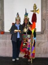 Claire-Zia princesse Inca et la reincarnation de Viracocha
