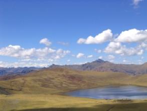 Lac pres du campement