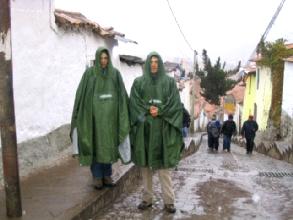 Fete de la musique ou Inti Raymi, c'est le meme programme : pluie, pluie et encore pluie...