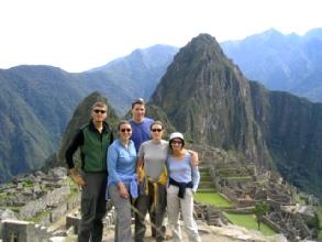 Les gringos au Machu Picchu