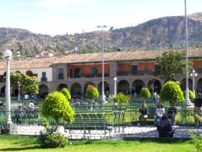 Place d'Armes a Ayacucho au Pérou