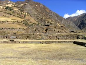 Vue du site de Chavin de Huantar au Pérou