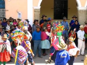 Fete de la Virgen del Carmen a Chavin