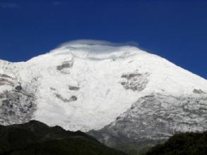 Le Chimborazo face nord
