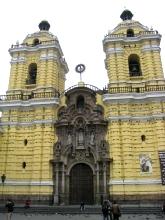 L'eglise du monastere san francisco a Lima