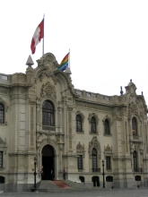Le palais presidentiel a Lima