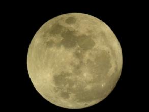 Pleine lune au telescope
