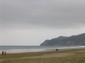 La plage de Puerto Lopez en Equateur