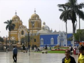 Cathedrale de Trujillo au Pérou