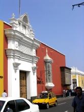 Maison coloniale de Trujillo au Pérou