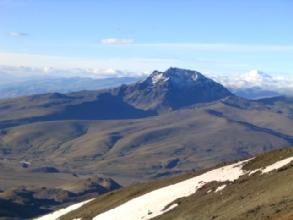 Le volcan Ruminahui