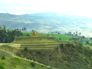 Le temple du soleil a Ingapirca