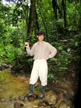 Gentleman dans la jungle a Misahualli
