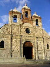L'eglise principale de Riobamba