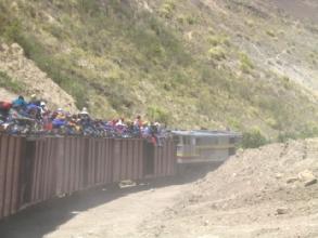 Le train de la Nariz del Diablo entre Riobamba et Alausi