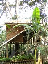 La maison dans l'arbre de la Finca Galves