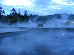 Piscine d'eau chaude a Baños del Inca