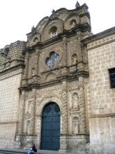 Facade d'une eglise de Cajamarca
