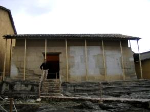 La prison du dernier inca Atahualpa a Cajamarca