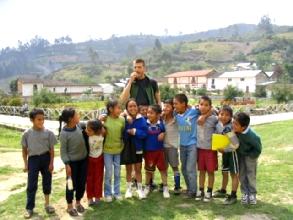 Les enfants du village de Levanto