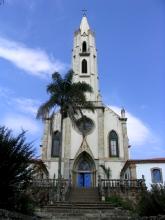 Une eglise de type gothique dans les environs de Belo Horizonte