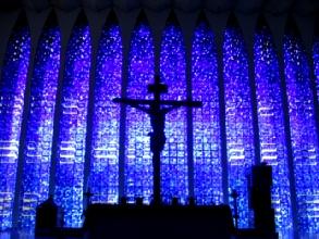 Le sanctuaire Don Bosco a Brasilia