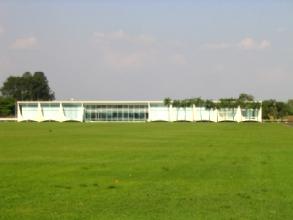 La maison du President de la Republique Bresilienne a Brasilia