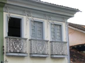 Facade d'un batiment Diamantina, Minas Gerais