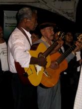 Guitariste de Serenade a Diamantina, Minas Gerais