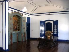 Interieur de la Casa de Gloria a Diamantina, Minas Gerais