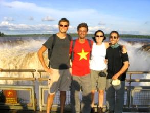 Les Daltons a Iguazu