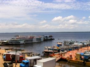 Le port de Manaus