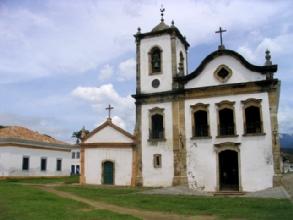 L'eglise sainte Rita a Parati