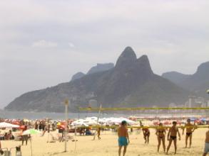 Beach volley sur Ipanema