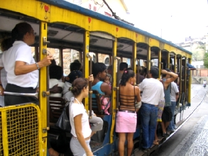 Le tramway de Santa Teresa a Rio de Janeiro