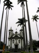 La cathedrale de Sao Joao del Rei, Minas Gerais