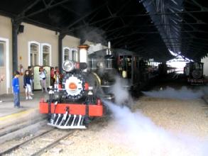 Le train de Sao Joao del Rei a Tiradentes, Minas Gerais